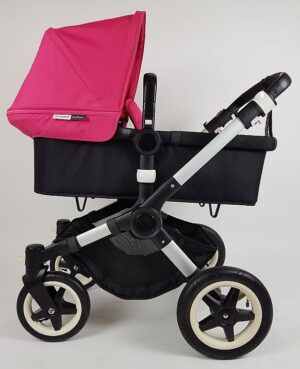 Bugaboo® Buffalo Kinderwagen - Zwart - Pink
