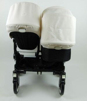 Bugaboo® Donkey Duo - Zwart - Off White