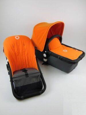 Bugaboo® cameleon aanvullende bekledingset - licht oranje
