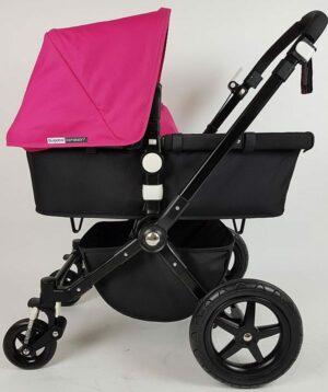 Bugaboo Cameleon 3 Zwart / Zwart / Pink