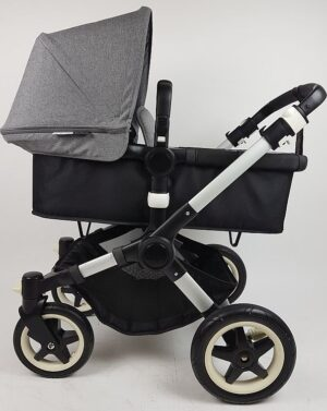 Bugaboo® Buffalo Kinderwagen - Zwart - Gemêleerd Grijs