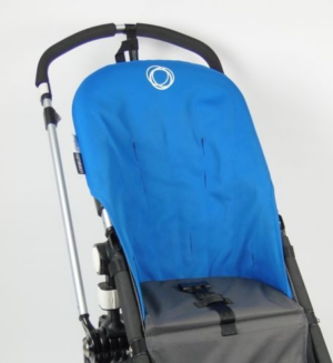 Bugaboo® Cameleon Seat Liner - Blue Canvas