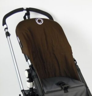 Bugaboo® Cameleon Seat Liner - Donkerbruin Canvas