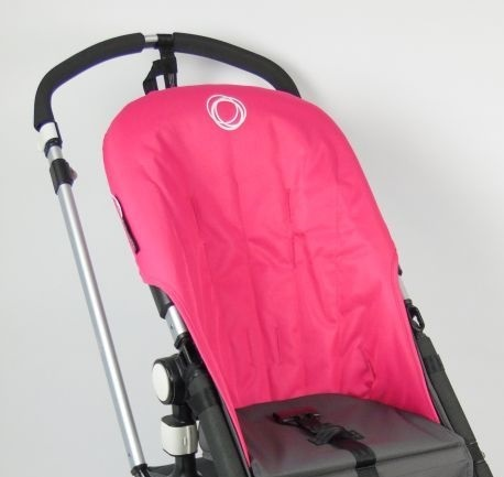 Bugaboo® Cameleon Seat Liner - Pink Canvas