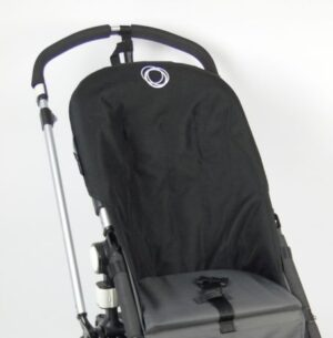 Bugaboo® Cameleon Seat Liner - Zwart Canvas