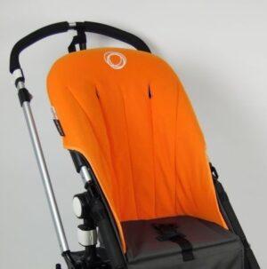 Bugaboo® Cameleon Seat Liner - Oranje Fleece
