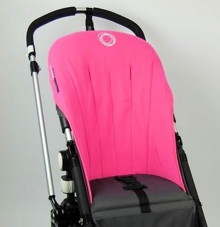 Bugaboo® Cameleon Seat Liner - Pink Fleece