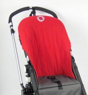 Bugaboo® Cameleon Seat Liner - Rood Fleece
