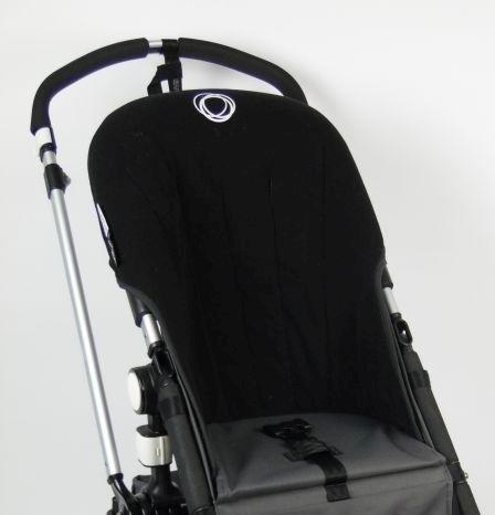 Bugaboo® Cameleon Seat Liner - Zwart Fleece