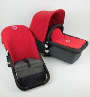 Bugaboo® cameleon aanvullende bekledingset - rood