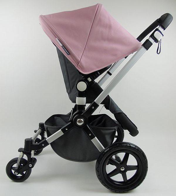 Bugaboo® Cameleon 3 Kinderwagen - Donkergrijs - Zachtroze