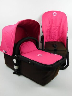 Bugaboo® cameleon aanvullende bekledingset - pink