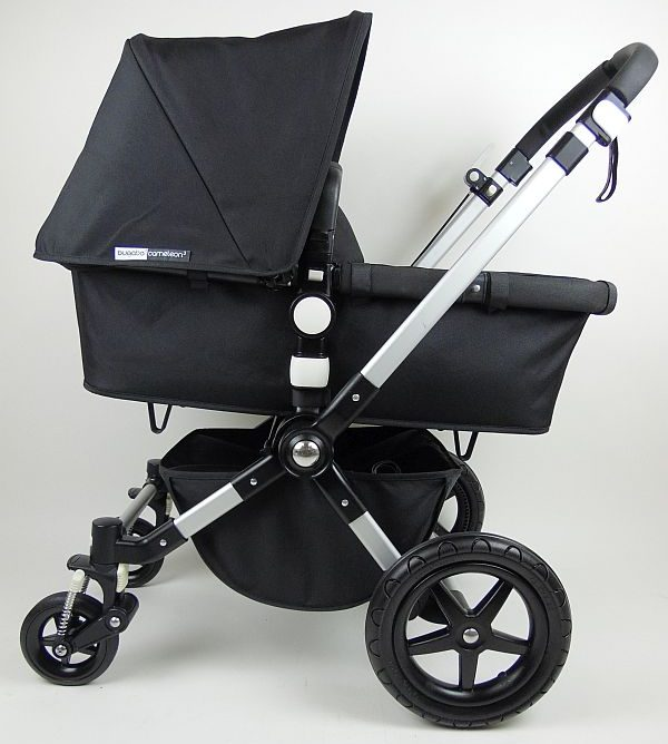 Bugaboo® cameleon 3 kinderwagen - alu/black