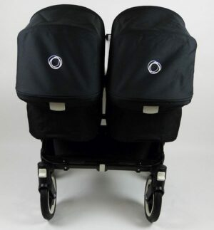 Bugaboo® Donkey Twin Kinderwagen - All Black