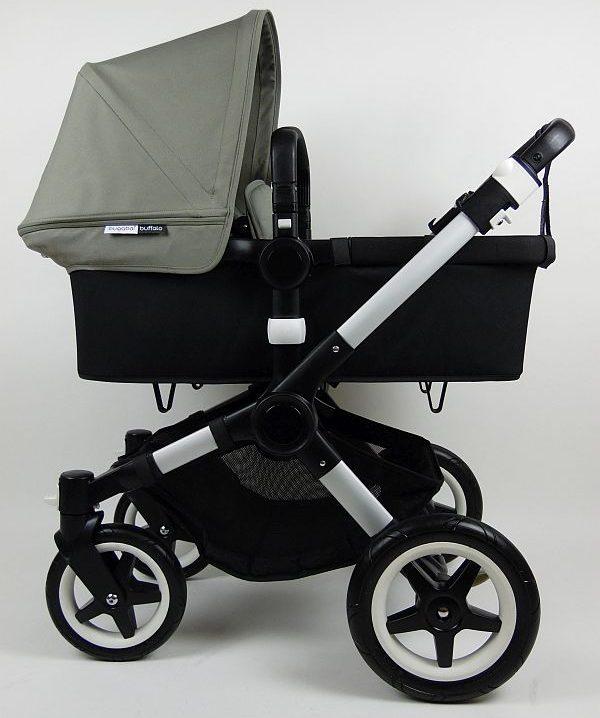 Bugaboo® Buffalo Kinderwagen - Zwart - Dark Khaki