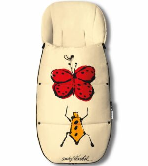 Bugaboo® Voetenzak Koord - Happy Bugs