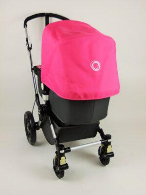 Bugaboo® cameleon 3 kinderwagen - donkergrijs - pink