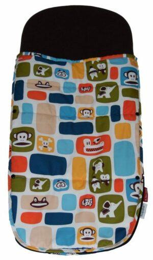 Bugaboo® voetenzak paul frank - color blocks