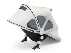 Bugaboo® cameleon 3 breezy zonnekap - silver light