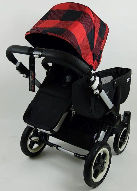 Bugaboo® Donkey Mono Kinderwagen - Zwart/Pendleton Rob Roy