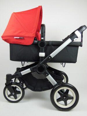 Bugaboo® Buffalo Kinderwagen - Zwart - Rood