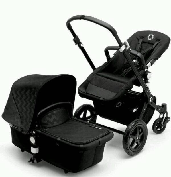Bugaboo® Cameleon3 Kinderwagen - All Black - Chevron
