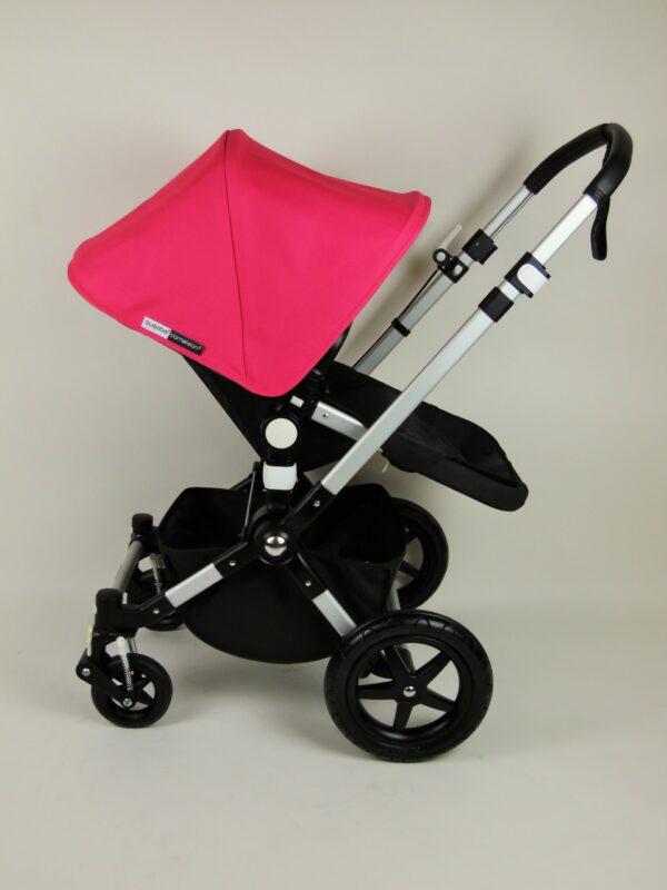 Bugaboo® Cameleon 3 Kinderwagen – Zwart – Pink