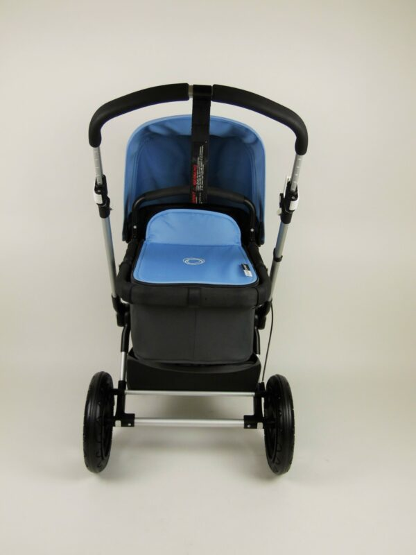 Bugaboo® Cameleon 3 Kinderwagen - Donkergrijs- IJsblauw