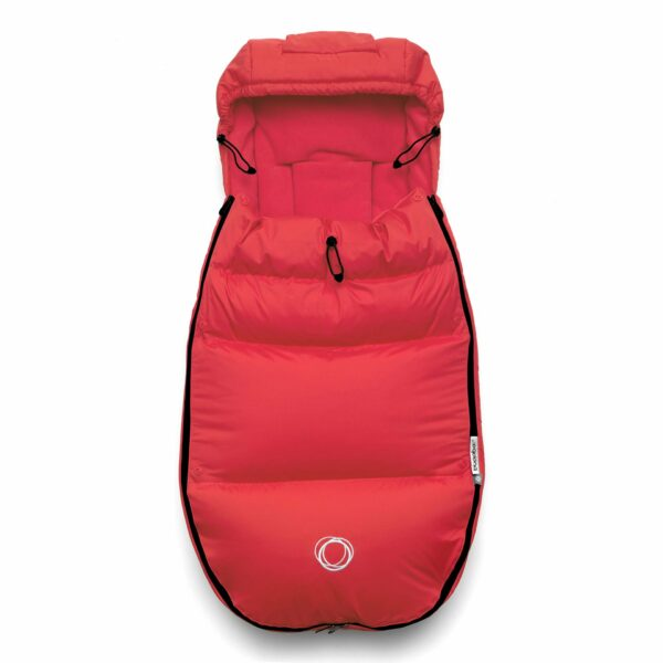 Bugaboo® high performance voetenzak - red