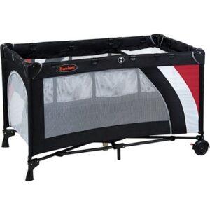 Baninni Campingbedje Nido Luxe - Black Stripes