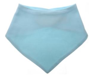 Bandana slabbetjes Katoen - Lichtblauw