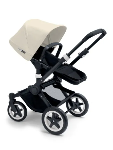 Bugaboo® Buffalo Kinderwagen - Zwart - Zwart - Off White