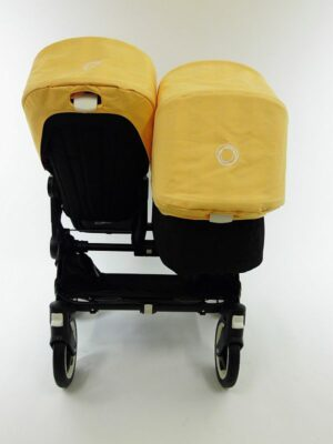 Bugaboo® Donkey Duo Kinderwagen - Zwart/Zwart/Jazz Up Summer