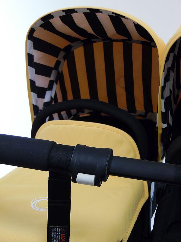 Bugaboo® Donkey Duo Kinderwagen - Zwart/Zwart/Jazz Up Summer