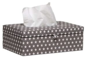 Briljant Baby Tissue box Sam - Antraciet