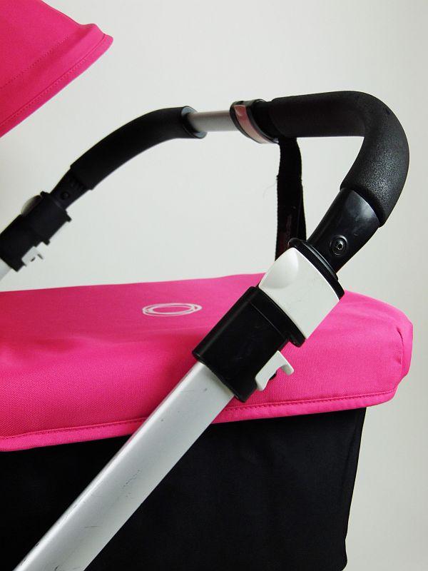 Bugaboo® Donkey Duo Kinderwagen - Zwart - Pink