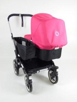 Bugaboo® Donkey Mono Kinderwagen - Zwart - Pink