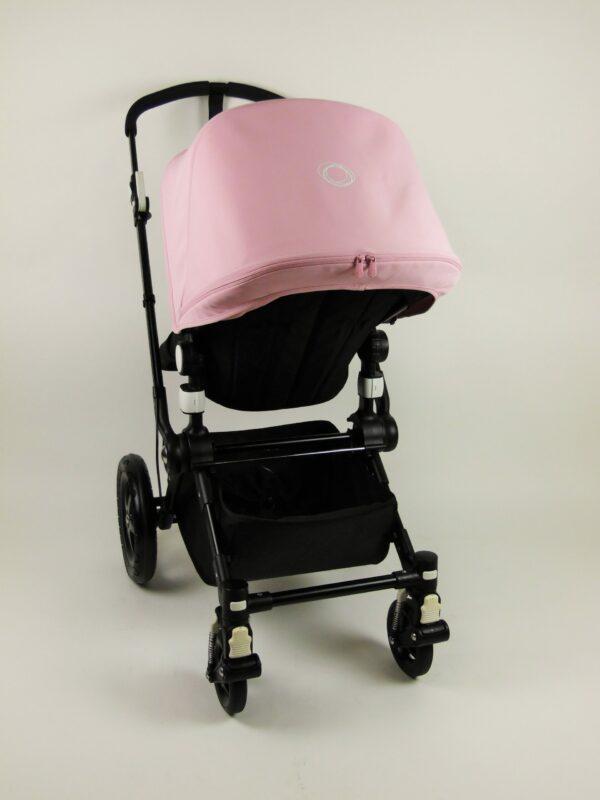 Bugaboo® Cameleon 3 Kinderwagen - All Black - Zachtroze