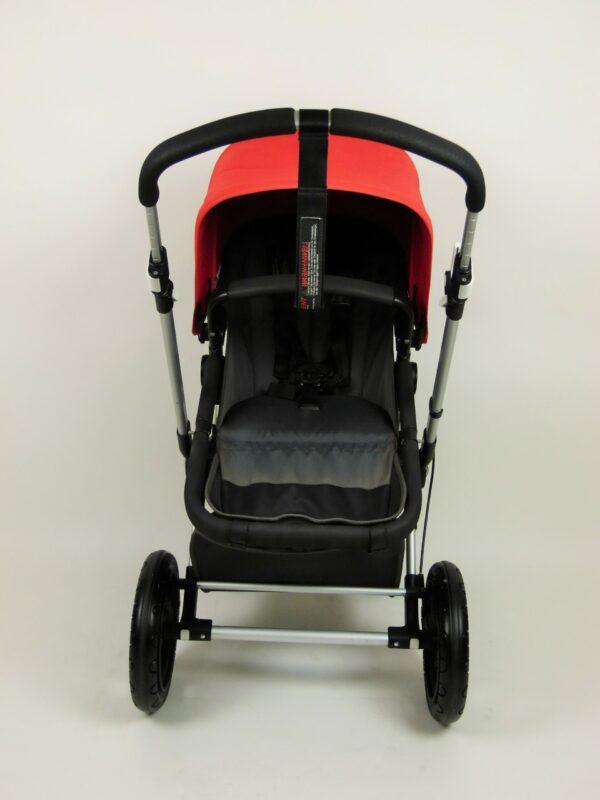 Bugaboo® Cameleon 3 Kinderwagen - Donkergrijs - Rood