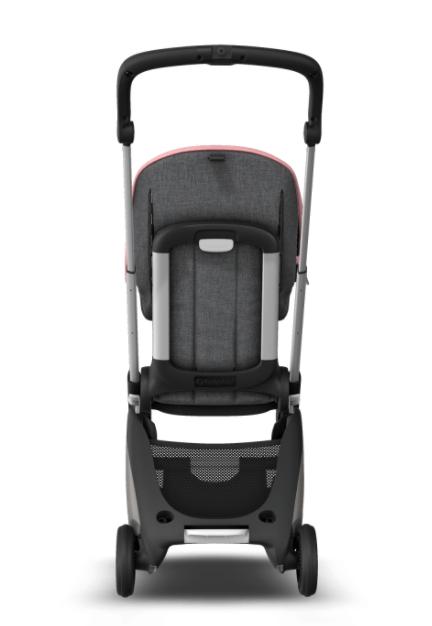 Bugaboo® Ant kinderwagen - aluminium - grey - pink melange