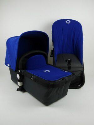 Bugaboo® cameleon aanvullende bekledingset - koningsblauw