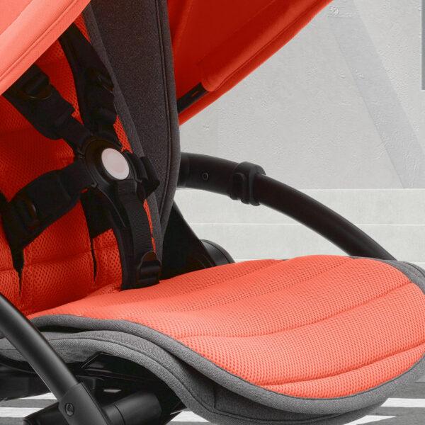 Bugaboo® bee 5 kinderwagen met stoel - coral