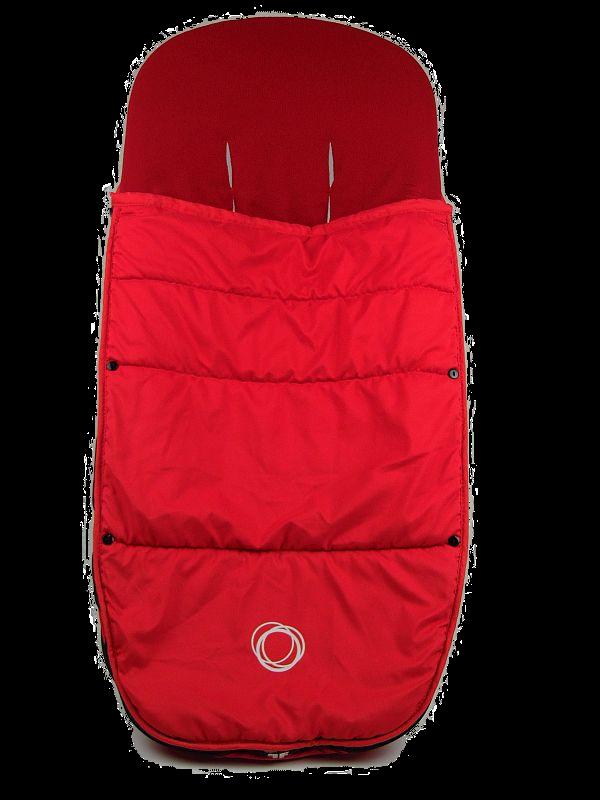 Bugaboo® voetenzak - red