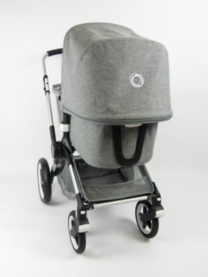 Bugaboo® fox 1 kinderwagen - grey melange