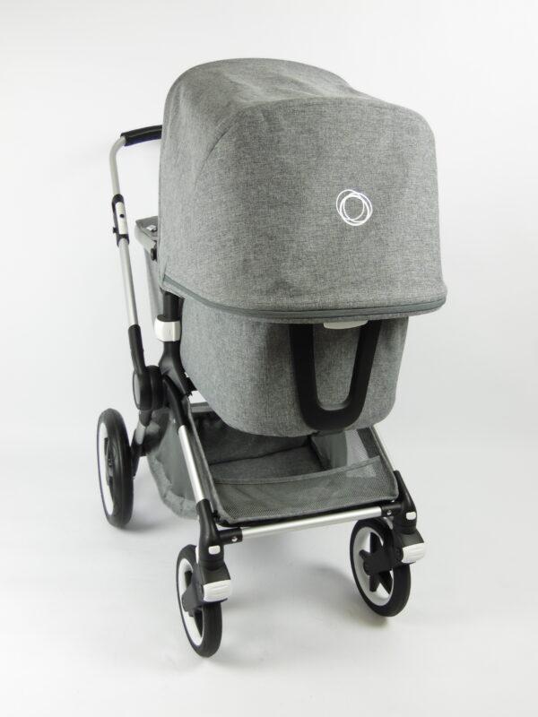 Bugaboo® fox 1 kinderwagen - grey melange