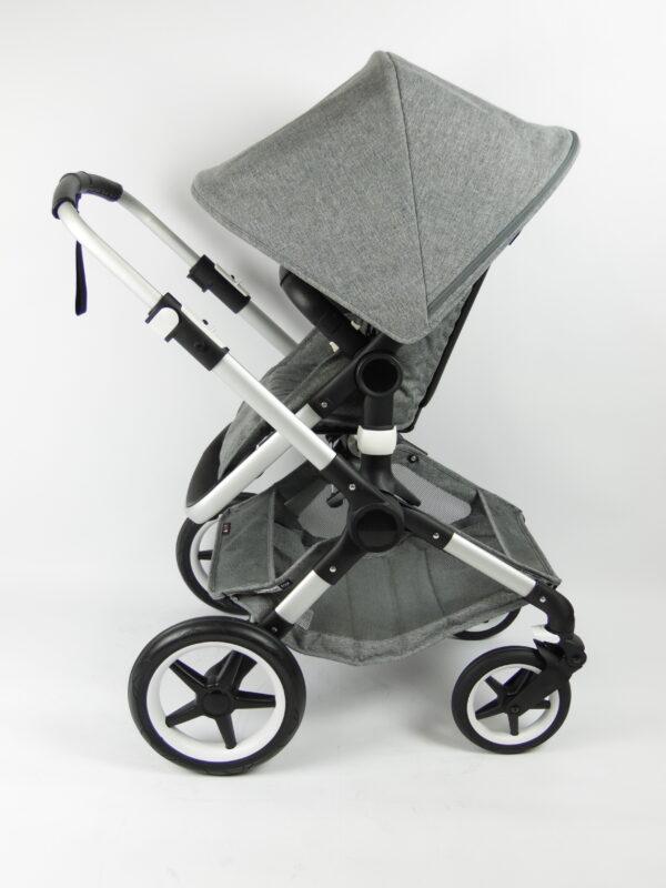 Bugaboo® fox kinderwagen - grey melange
