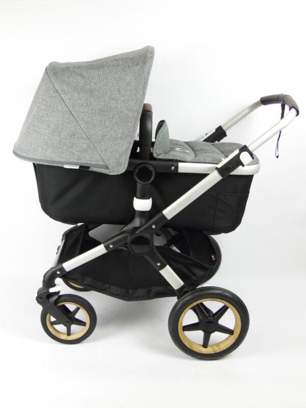 Bugaboo fox 1 kinderwagen - alu/black/grey