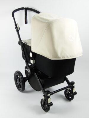 Bugaboo® cameleon 3 kinderwagen - zwart - zwart - off white