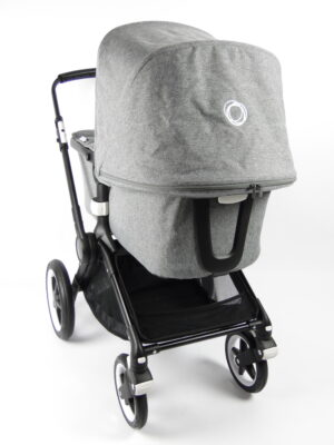 Bugaboo fox 1 Kinderwagen - black/grey melange