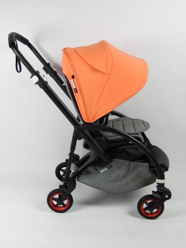 Bugaboo® bee 5 kinderwagen met stoel en wieg - coral